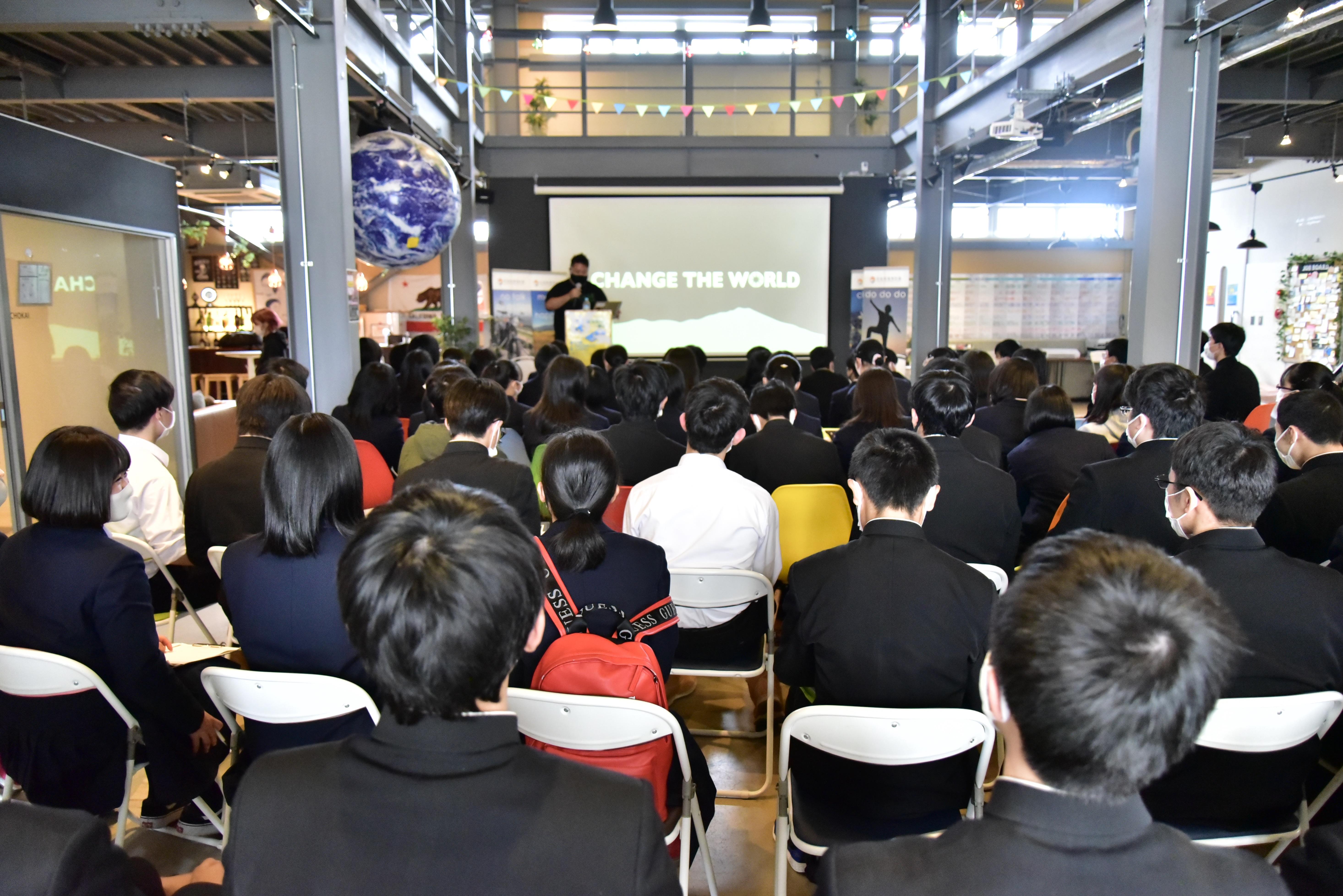 山形県立米沢興譲館高等学校の生徒が会社見学に!